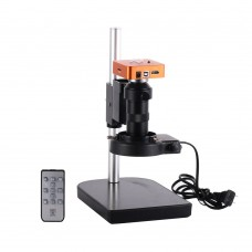 HY-1138b 21MP Industrial Microscope Camera 100X Lens 2K/1080P 60FPS HDMI Port 1080P USB Port 56LEDs