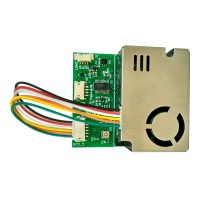 7-In-1 Air Quality Sensor Module PM2.5 PM10 Temperature Humidity CO2 HCHO TVOC Serial & RS485 Output