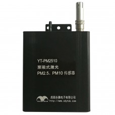 YT-PM2510 2-Channel PM2.5 Sensor PM10 Sensor 12V TTL Port Laser Dust Sensor