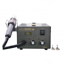 SBK850D Hot Air Gun Rework Soldering Station Digital SMD Rework Station Automatic Sleep