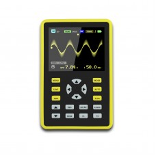 "ADS5012H Handheld Digital Oscilloscope 100MHz 500MSa/s with 2.4"" Color TFT Screen Black & Yellow"