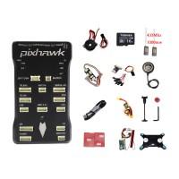 CUAV Autopilot Pixhawk PX4 Flight Controller Pixhawk 2.4.7+M8N GPS+2pcs 1000mW 433MHz Radio Telemetry