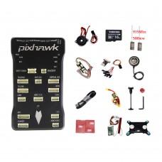 CUAV Autopilot Pixhawk PX4 Flight Controller Pixhawk 2.4.7+M8N GPS+2pcs 500mW 915MHz Radio Telemetry