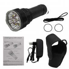 IMALENT DX80 Torch 32000LM 8x LED Powerful Searching Flashlight Waterproof Torch 806M