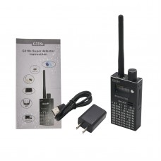 G318+ RF Signal Detector Anti-Spy Signal Bug RF Detector 1-8000MHz Distance 0-10 Meters