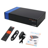 DVB-S2 H.265 Decoder Satellite TV Receiver Built-in WIFI AVS Digital Television Box GTMEDIA V8 NOVA Blue