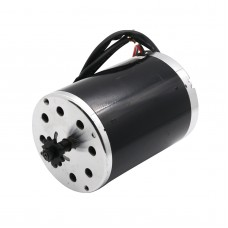 MY1020 1000W 48V DC Electric Scooter Motor with #25 Sprocket for eATV eBike Scooter
