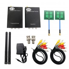 5.8G Transmitter and Receiver Wireless Audio Video System w/ 16 Communication Channel for Monitor RC