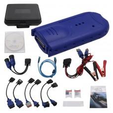 For NEXIQ USB Link 1 w/Plastic Case Software Diesel Truck Interface Heavy Duty Truck Scanner OBD