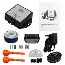 X-881 Underground Electric Dog Fence System Dog Training Collar Rechargeable w/300M Wires for 1 Dog
