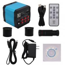2307su 14MP Industrial Microscope Camera HDMI USB Output Digital Eyepiece w/ 0.5X C-mount Lens
