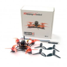 "Larva X Drone 100MM 2.5"" 2-3S Micro FPV Racing Drone Crazybee F4 V3.0 w/ External TBS Crossfire Nano RX"