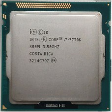 Intel Core i7-3770K 3.5GHz Quad-Core 8M 5GT/s LGA 1155 CPU 77W