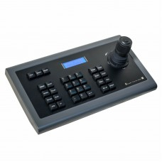 MY-C500 4D CCTV IP PTZ Controller PTZ Keyboard Controller Joystick with LCD Blue Backlight