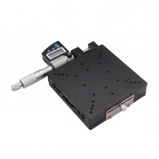 SEMX120-AS X-Axis Manual Linear Stage High Precision 120*120mm with Digital Micrometer LCD Display