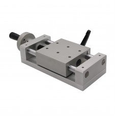 KA80-1402-50 Manual Sliding Table Cross CNC Sliding Table 50mm Linear Stage 196N
