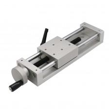 KA80-1402-150 Manual Sliding Table Cross CNC Sliding Table 150mm Linear Stage 196N