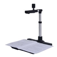 10MP Portable Document Scanner A3 A4 A5 A6 Dual Cameras Fixed Focus for ID Card Photo Books M1000S