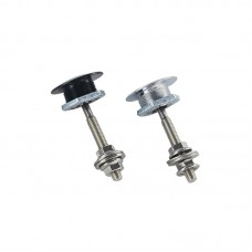 """1.25"""" Universal Car Hood Pins Lock JDM Style Push Button Clip Kit Car Quick Pins 2.13"""" 54mm for BMW"""