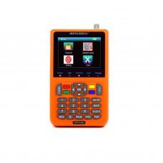 "iBRAVEBOX V9 Digital Satellite Finder Signal Meter Support H.265 3.5"" LCD Screen HD 1080P Orange"