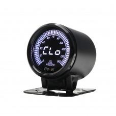 """2"""" 52mm Fuel Pressure Gauge Universal 52mm Oil Pressure Gauge Digital Display 0-150PSI OS090 12V"""