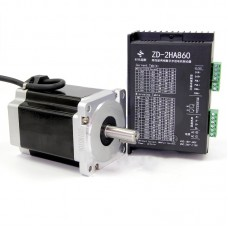 86 Stepper Motor 2-Phase 8.5Nm + Stepper Motor Driver For 57/ 86 Stepper Motors ZD-2HA860