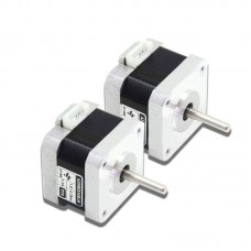 2pcs 42 Stepper Motor 2-Phase 4-Wire 0.3Nm 1.3A Low Noise Low Temperature Rise 42HBD34BJ4-TF0