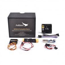 Arkbird-Nano RC Autopilot for Small FPV XT60 Plug+Full Kit (Flight Control+GPS+Mini Current Sensor)