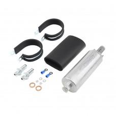 GSL392 GSL-392 255LPH High Flow Inline External Fuel Pump Kit For Walbro
