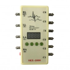 ECG Signal Generator ECG Simulator Generate Respiratory Waveform Multiple Waveforms SKX-2000D