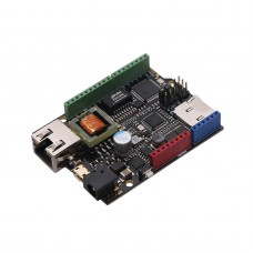 W5500 8VAC DC Ethernet Controller Integrated ATmega32u4 and POE Power Supply