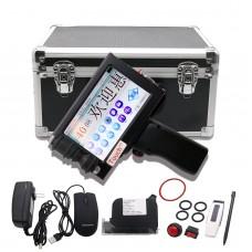 Intelligent Handheld Inkjet Printer 600DPI 5'' Touch Screen Date Coder Machine Printing Height 2-12.7mm
