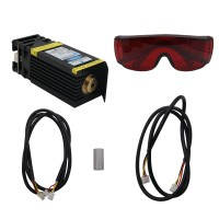 15W Laser Head 15000mW Blue Laser Module for CNC Laser Engraving Machine Laser Cutter with PWM