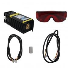 15W Laser Head 15000mW Blue Laser Module for CNC Laser Engraving Machine Laser Cutter with PWM