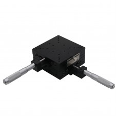 2-Axis XY Micrometer Linear Stage Manual Linear Stage 120x120mm w/Crossed-Roller Bearing SEMY120-AC