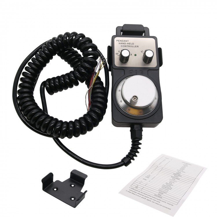 Signal Generators TM1469 4-Axis Manual Pulse Generator MPG CNC ...