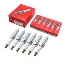 6pcs OEM 12290-R70-A01 ILZKR7B11 Iridium Spark Plugs For Acura Honda NGK7751
