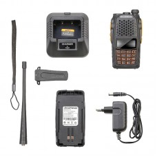 Baofeng UV-6R Baofeng Dual Band FM Transceiver Two Way Radio VHF UHF 128CH w/ Earphone BF-UV6R