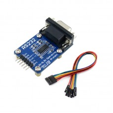 RS232 To TTL RS232 To UART RS232 Serial Module Board ESD Protection with Dupont Cable