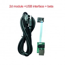 2D Barcode Scanner Module Embedded QR Code Scanning Recognition For 1D 2D Bar Code DL-X820Y USB Port