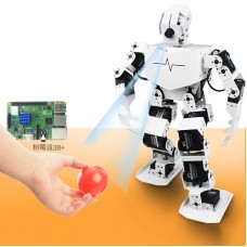 18DOF Visual Humanoid Robot Programmable Robot TonyPi Finished w/ Main Board for Raspberry Pi 3B+