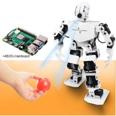 18DOF Visual Humanoid Robot Programmable Robot TonyPi Finished w/ Main Board for Raspberry Pi 4B/2G