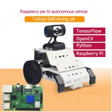 Smart Robot Car Kit TurboPi AI Programmable Robot Car w/ Main Board for Raspberry Pi 3B+ Unfinished