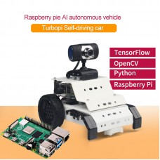 Smart Robot Car Kit TurboPi Programmable Robot Car w/ Main Board for Raspberry Pi 4B/2G Unfinished