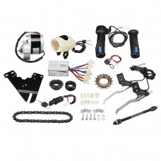 "24V 250W Electric Bike Conversion Kit Scooter Motor Controller Kit for 22-28"" Ordinary Bike"