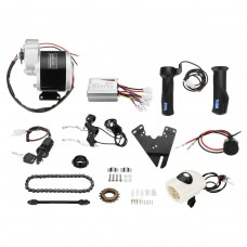 "350W 24V Electric Bike Conversion Kit Scooter Motor Controller Kit for 22-28"" Ordinary Bikes"