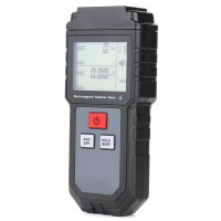 Electromagnetic Radiation Tester Electric Field & Magnetic Field Tester Sound Light Alarm RZ825