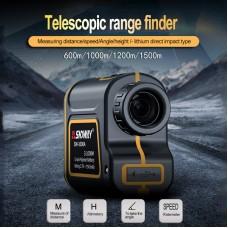 3-600m Golf Laser Range Finder Golf Distance Rangefinder Outdoor Sports SW-600A Standard Version