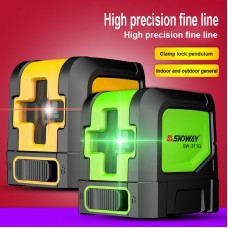 Self-Leveling Cross Line Laser Level Vertical & Horizontal Red Beam 2 Cross Lines SW-311R