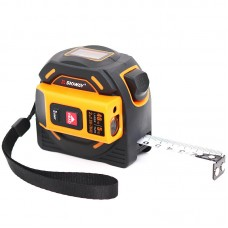 2-In-1 Laser Distance Meter 40m Laser Tape Measure Laser Range Finder Self-Locking SW-TM40